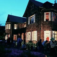 ライトアップ/旧古河庭園/西ヶ原/東京/北区/バラ園/... 旧古河庭園のバラフェスティバルへ行ってき…