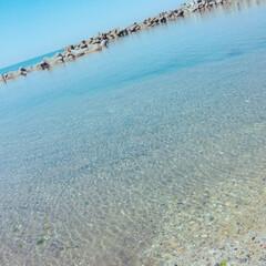 海辺 キレイすぎる日本海〰️ 糸魚川