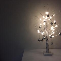 クリスマスツリー/ニトリ ニトリのLEDツリー