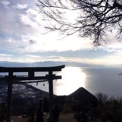インスタ/絶景/金運アップ/フォロー大歓迎/お出かけ/旅行/... 1月18日に香川の銭形砂絵と高屋神社の天…