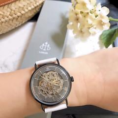 腕時計/時計/コーデ/夏コーデ/ファッション/夏ファッション/... loborの時計  プラネタリウムシリー…