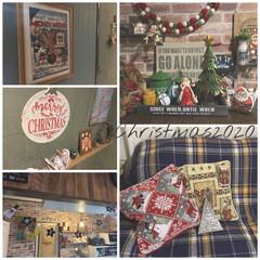 クリスマス雑貨/クリスマスインテリア/クリスマス/Christmas飾り付け/ニトリ 最近いろいろと忙しかったので、久々の投稿…(1枚目)