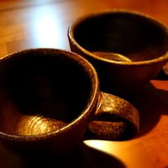 手作り体験/コーヒーカップ/お気に入り/手作り/食器/ロクロ体験/... 私の実家は、焼き物で有名な町にありまして…(2枚目)