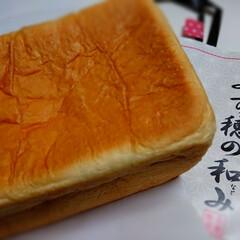 食パン/パン/生食パン/焼きたてパン/雨季ウキフォト投稿キャンペーン/至福のひととき/... よく行くスーパーで、 パン屋さんの前を通…