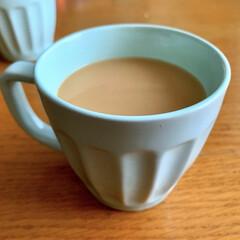 長男くんがコーヒー入れてくれました/ドリップコーヒー/コーヒーブレイク/午後のひととき/セリア/暮らし 長男くんが、ドリップコーヒーを入れてくれ…