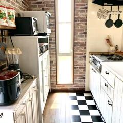 キッチンと暮らす。/キッチン/インテリア キッチンを別の角度から(*´꒳`*)