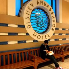 ぬいば/イクスピアリからの/ディズニーホテルロビー/ディズニーホテルラウンジ/ディズニーアンバサダーホテル/ディズニーリゾートホテル/... 昨日、イクスピアリからの、ディズニーアン…