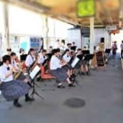 イベント/部活/LIMIAファンクラブ/吹奏楽部/宝積寺駅/特別列車/... 先日、長男くんが部活で、駅のホームで演奏…