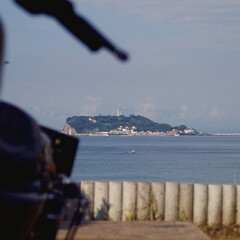 ハーレー/江の島