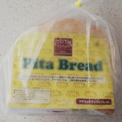 ケイジャンチキン/kaldi/コストコ購入品/コストコ/ピタパン/おうちごはん/... 今日のランチ🍴💕 コストコのピタパンです…(2枚目)