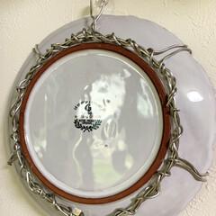 福袋の中身/100均ワイヤー/お皿の壁飾り/インテリア/ライフスタイル/暮らしを楽しむ/... 福袋に入ってた可愛いお皿ですが 使い道が…(2枚目)