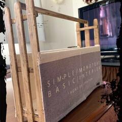 マガジンラック/LIMIAベスト収納2019/キャンドゥ/100均/DIY/収納/... マガジンラックつくりました⚒ キャンドゥ…(2枚目)