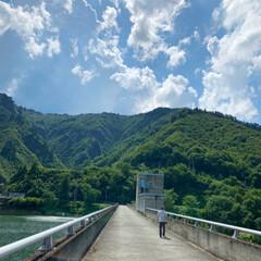 スタンプラリー/ダム/新潟県魚沼市/至福のひととき/LIMIAおでかけ部/旅行/... 新潟 魚沼に やってきました😊 ダムのス…