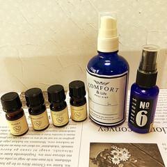 花粉症対策/マスクスプレー/癒し/アロマスプレー/アロマ アロマスプレー作りました💕 予約していた…