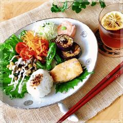 朝ご飯/体に優しい朝食/ワンプレート/フード/キッチン おはようございます(^-^)  梅雨の …