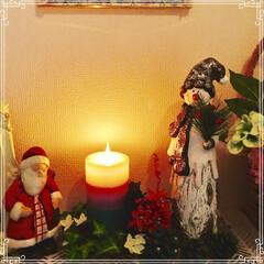 玄関/クリスマス/雑貨/インテリア 早いですね〜。 もうすぐ クリスマス🎄🤶…