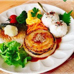 朝ご飯/ワンプレート/おうちごはん/フード 今日の 朝ご飯 暑い一日に なりそうです…