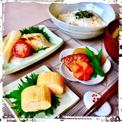 朝ごはん/わたしのごはん/フード 今日の 朝ごはん やっと nagomi …