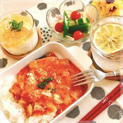朝ご飯/フード/おうちごはん おはようございます!☘️  本日 朝ごは…