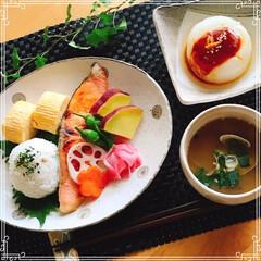 和食/朝ごはん/おうちごはん おはようございます。^ - ^  月曜日…