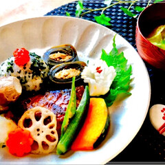 朝ご飯 和食/おうちごはんクラブ/おうちごはん/フード/ハンドメイド/ごはん 久々の 朝ごはん upです。 年末で、皆…(1枚目)