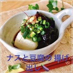 お家ご飯/手作り/揚げ出し豆腐/節約