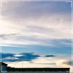 朝ごはん/夕方の空/三日月と 飛行機/三日月/フード/おうちごはん 今日の 朝ごはん   ☆もち麦入りご飯 …(2枚目)