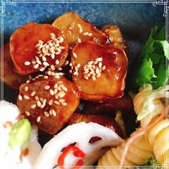 ハンドメイド/キャンドゥ 朝ごはん 赤米と枝豆おにぎり 焼魚(ホッ…(2枚目)