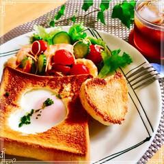 朝ごはん/デザート/夏休み/フード/おうちごはん/ハンドメイド/... 今日の 朝ごはん 帰省中の 子供家族 …