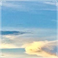 朝ごはん/夕方の空/三日月と 飛行機/三日月/フード/おうちごはん 今日の 朝ごはん   ☆もち麦入りご飯 …(3枚目)