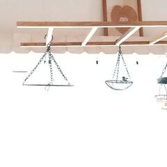 軽量/DIY/吊るす雑貨/はしご/ラダー 天井から吊るしても大丈夫な軽量ラダー✨ …