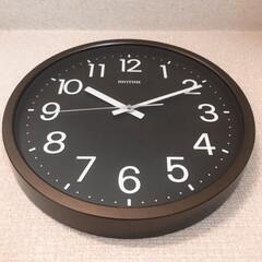 リズム時計工業/掛け時計/掛時計/シンプルデザイン/シンプル/ブラウン/... 結婚式の引出物のカタログギフトでいただい…
