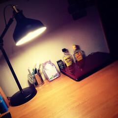 ワークランプ/デスクライト/ライト/ランプ/IKEA/イケア/... IKEAのワークランプ 💡  形から雰囲…