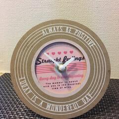 フォトフレーム/時計/ダイソー/セリア/100均/雑貨/... 久しぶりにフォトフレームで時計🕰を作って…(2枚目)
