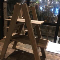 木工/シェルフ/DIY/雑貨/ハンドメイド/おでかけ 今日はdiy工房で、こちらのミニシェルフ…