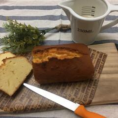 バウンドケーキ/パン切り包丁 バウンドケーキを焼きました💕 WENGE…