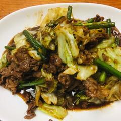 中華/おうちごはん 今日の晩御飯は中華  レンコンと鶏肉の黒…(3枚目)