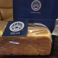 食パン/私のお気に入り/至福のひととき/わたしのお気に入り 私のお気に入りパン🍞 ハレパン😘  晴れ…