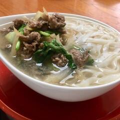 ベトナム料理/フォー/至福のひととき/LIMIAごはんクラブ/おうちごはんクラブ/わたしのごはん 今日のお昼は ベトナム🇻🇳の フォーを作…