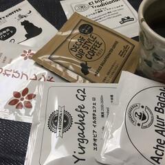 コーヒー/フード 朝のコーヒー☕️タイム  今日はどれにし…