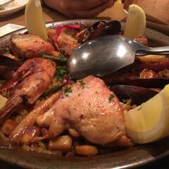 パエリア/スペイン/おでかけ/フード/グルメ パエリア🥘を食べてきました 🎶