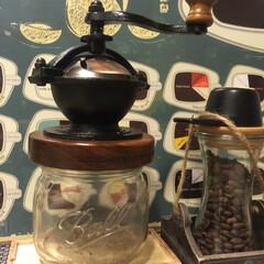 コーヒーミル/コーヒー/キッチン雑貨/わたしのごはん お気に入りのコーヒーミル☕️ ミルによっ…