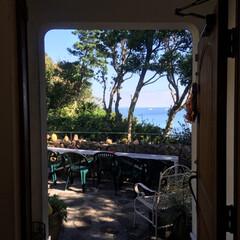 カフェ/ハロウィン/スイーツ/グルメ/おでかけ 癒しの空間 ゆっくり流れる時間、、海を眺…