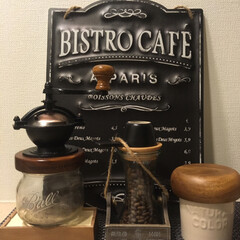 コーヒーミル/コーヒー/キッチン雑貨/わたしのごはん お気に入りのコーヒーミル☕️ ミルによっ…(2枚目)