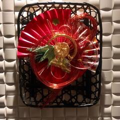 しめ飾り/お正月/インテリア お正月のしめ飾りを作りました🎍