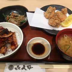 ザンギ/豚丼/ランチ/おでかけ/グルメ/フード 昨日のランチ 北海道十勝の豚丼とザンギ …(2枚目)