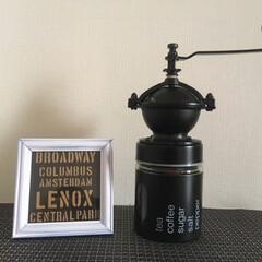 リメイク/コーヒーミル/ハンドメイド/DIY/キッチン雑貨/インテリア コーヒーミルをdiyしました。 旦那さん…