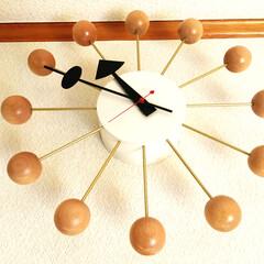 時計/ジョージ ネルソン/生活雑貨 Vitraのネルソンクロックかわいくてお…