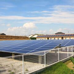 太陽光発電/屋根/省エネ/ナチュラル/自然/静岡/... 遊休地に設置した太陽光発電です。