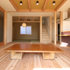 無垢板/座卓/テーブル/家具/新築